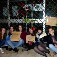 20 min : Les Jeunes Écologistes de Toulouse répondent au fumier par des fleurs