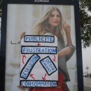 20 min, Sud-Ouest : les anti-pub passent à l'action à Bordeaux avec les Jeunes Écologistes !