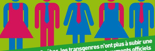 En France comme au Québec, des droits pour les trans' !