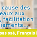 Le nouveau porte parole du Medef : François Hollande