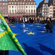 Strasbourg  : Marche européenne pour les droits des migrants