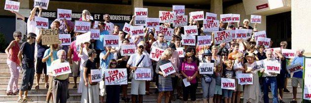 Les citoyens majoritairement hostiles aux accords transatlantiques TAFTA et CETA
