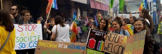 Marcher pour l'amour et l'égalité