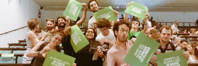 Les Jeunes Écologistes aux Journées d'été de Lorient