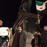 [Normandie Actu] Rouen solidaire d'Alep : une centaine de personnes rassemblées devant l'Hôtel de Ville